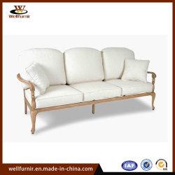 2018 Well Furnir Outdoor Aluminium Furniture Garden Hotel Polywood 3-Seat Sofa