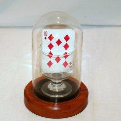 Horizontaler Karten-Anstieg/Magie der magische Trick-Karten-Magic/Mentalism