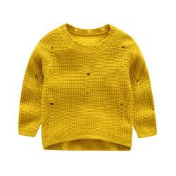 Gestrickter Pullover der neuen Kinder, Kind-Strickjacke-runder Stutzen für Herbst/Winter-Großverkauf