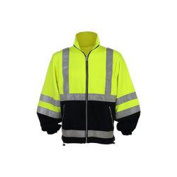 Vêtements de laine polaire Sweatshirt Hivis Traffic Safety Hoodie Sweat-shirt Vêtements de travail