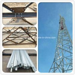 Auto Triangular galvanizado permanente comunicación de la antena de Microondas Plancha de acero de ángulo de la celosía de torre de guardia