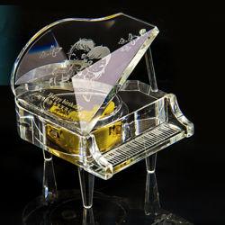 결혼 선물 투명한 수정같은 피아노 (KS29052)