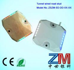 Aleación Alumunum LED intermitente con cables prisionero de túnel de carretera