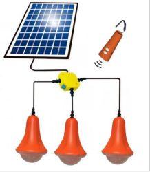 Het draagbare 30W ZonneSysteem van de Verlichting van het Huis met de Functie van de Lader