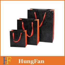 Sacchetto del regalo del documento del prodotto di cura personale con stampa UV e la timbratura calda