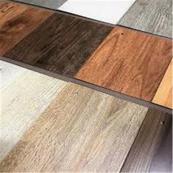 4mm Lvt étanche en vinyle résistant au feu Cliquez sur planche de SPC Cork Flooring