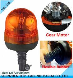 Предупредительный световой сигнал IP 65 Gear Motor Rotating Halogen Beacon CE высокого качества с DIN Mount Flexible Base