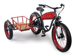 Harley Side Car com a cesta