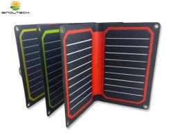 iPhone, iPad, 휴대용 퍼스널 컴퓨터 (FSS-10.6)를 위한 10.6W Foldable 소형 태양 충전기