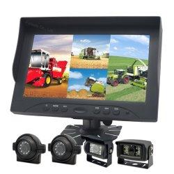 Масляный бак погрузчика с помощью системы камеры заднего обзора вид сбоку автомобиля камера720p 1080P