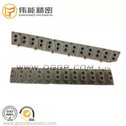 O OEM Eletronica Piano principais botões de borracha grau alimento para Piano Teclado de silicone