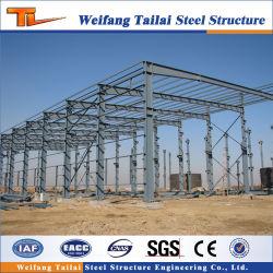 工業デザイン倉庫用プリファブ式ワークショップビルライトスチール構造