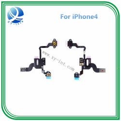 iPhone 4 4G力の屈曲ケーブルのための力ボリューム黙秘者ボタンセット