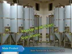 Beer Breweryのためのステンレス製のSteel Conical Fermenter