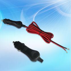 24V 10une fiche mâle adaptateur allume-cigare avec cordon d'alimentation 3m/10FT