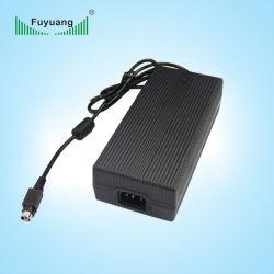 محول كهرباء تيار متردد/تيار مستمر بقدرة 24 فولت DIN 4 سن لشاشات LCD بقدرة 6 أمبير