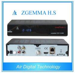 가득 차있는 채널 통신로 하이테크 Zgemma H.S 위성 텔레비젼 수신기 높은 CPU 리눅스 OS DVB-S 하나 조율사