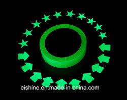E-Shine 6heures Pet matériau PVC acrylique photoluminescente lueur dans Dark Film pour les signes d'urgence