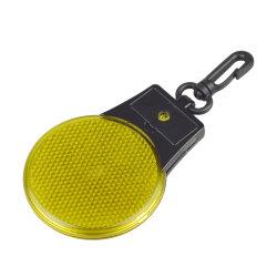 Ronde d'avertissement LED Clip de sécurité sur la lumière avec réflecteur de lumière Flash pour l'exécution
