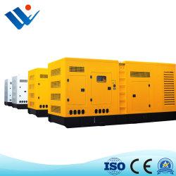 Generatore elettrico diesel a tre fasi potere silenzioso/insonorizzato di /Open con Perkins/Weichai/Yuchai Genset diesel nel servizio della Cina