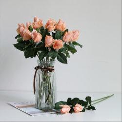 Het kunstmatige Huwelijk bloeit Kunstmatig toenam de Bewaarde Kunstmatige Kunstbloem van de Installatie met de Decoratie van het Huis van het Huwelijk