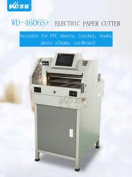 Der Digitalsteuerungs-7inch elektrische Papierschneidemaschine des Screen-A3 (WD-4606S plus)