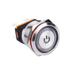 Allumé en 15A alimentation électrique intelligent de verrouillage de la LED du bouton
