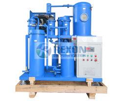 Macchina di rigenerazione dell'olio della turbina di disidratazione di vuoto per pulizia usata dell'olio della turbina