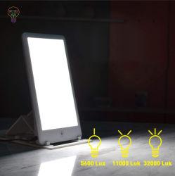 Lâmpada de terapia da luz de terapia de LED com temporizador com função de temporizador