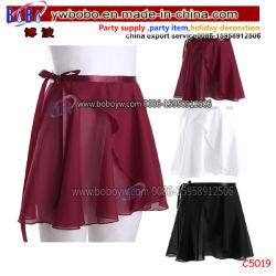 Partie mousseline de soie Costumes de femmes d'une ligne Ballet Dancewear Léotard Tutu Skate Wrap foulard robe de la jupe (C5019)
