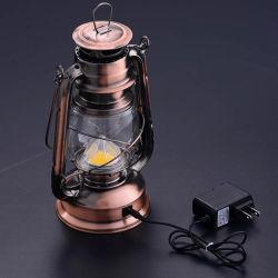 LED de Antiguidades decorativas Casa recarregável Camping Lantern Furacão Lantern