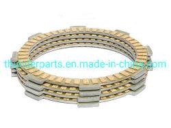 Disque d'embrayage moto Plaque pièces de rechange fibre pour Honda/Suzuki Yamaha/Bajaj motocyclettes/