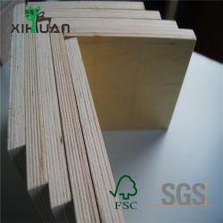 Chinesisches Qualitäts-Pappel-Furnierholz der Fabrik-8mmx1220X2440 für Verpackungs-Ladeplatte