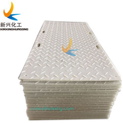 L'aménagement paysager de Texture personnalisée des tapis de sol des plaques de protection de la route de polymère mat