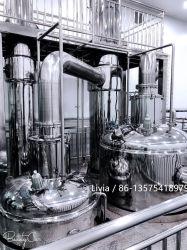 La caída de alto rendimiento para la recuperación de etanol de evaporador de película