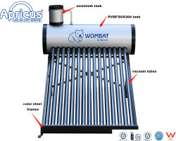 Apricus Domestic Heating System Evacuated Tubes Non-Pressurized Solar Water Heater (150L。 180L. 200L. 240L. 300L)