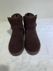 Novas Botas de tornozelo para Mulheres Senhoras sapatos de Inverno mulheres botas de couro