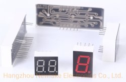 7 de 2 dígitos display LED de segmento