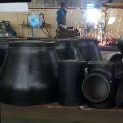 ASTM A234 SS/Kolben-Schweißungs-Rohrfitting-Betrug-Reduzierstück-T-Stück Kohlenstoffstahl-/Ms/CS-A234wpb ((KRÜMMER, REDUZIERSTÜCK, SCHUTZKAPPE, SCHLAUFE, STUMMEL-ENDE, FLANSCH)