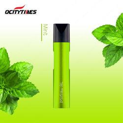 Vaporisateur Pod E cigarette remplie au préalable avec le sel de la nicotine d'E-Jus de fruits