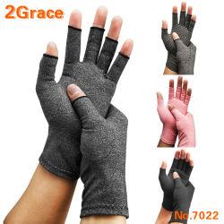 De Handschoen van de Artritis van de katoenen Compressie van Lycra voor de Hulp van de Pijn
