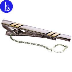Pinzas de amarre de metal de logotipo personalizado Barra de sujeción de // Cierre amarre