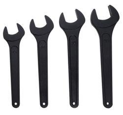 Fábrica de boa qualidade e aluguer de bicicletas Chave de reparação de veículos de cor preta uma chave de extremidade aberta Ferramenta Mão