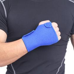 O desporto em neoprene ajustável punho esquerdo o esteio de apoio polegar talas