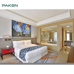 Kundenspezifisches modernes Fünf-Sternehotel-Schlafzimmer-Möbel-Set