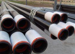 Tubo de tampa de API-5TC acoplados rosca J/K55/N80/L80/P110/T95/T125 API 5L/ASTM A53/A106 Gr. B sem tampa de aço galvanizado para tubo de óleo da água arcabouço de gás