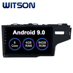 Witson Android 9.0 Car Audio Video para Honda Fit 2014 Rhd 4GB de RAM 64 GB de memoria Flash Pantalla grande en el coche reproductor de DVD