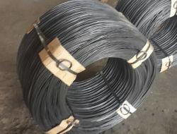 1.6mm filo di ferro ricotto nero*25kg imballo, sacchetti di plastica all'interno del tessuto Hessaion all'esterno
