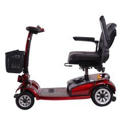 Motorino portatile di mobilità delle 4 rotelle di piegatura astuta adulta mini, motorini elettrici di mobilità del commercio all'ingrosso