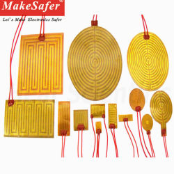 Todos os tipos de isolantes elétricos flexíveis Kapton Poliimida Filme de aquecimento